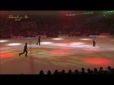Friends on Ice 2014 - совместный номер с Эваном и Брайаном