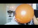 Blow Up Halloween Balloons (non-pop)