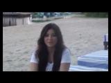 Певица Ани Лорак рассказывает о новом альбоме 'Избранное' (2011 г.)